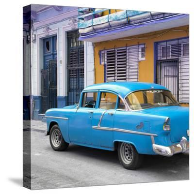 Cuba Fuerte Collection SQ - Old Cuban Blue Car