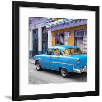 Cuba Fuerte Collection SQ - Old Cuban Blue Car
