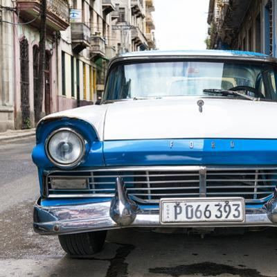 Cuba Fuerte Collection SQ - Old Ford Blue Car