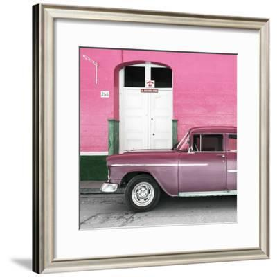 Cuba Fuerte Collection SQ - Old Pink Car