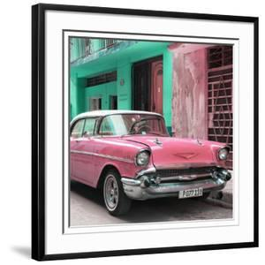 Cuba Fuerte Collection SQ - Pink Chevrolet Cuban by Philippe Hugonnard