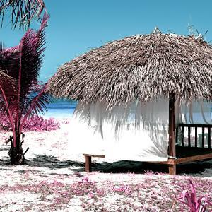 Cuba Fuerte Collection SQ - Pink Paradise Beach Hut by Philippe Hugonnard