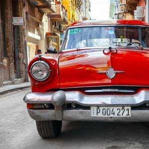 Cuba Fuerte Collection SQ - Red Taxi of Havana by Philippe Hugonnard