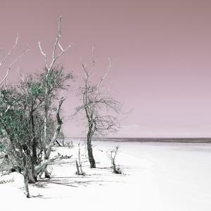 Cuba Fuerte Collection SQ - Sandy Beach Pastel Pale Violet by Philippe Hugonnard