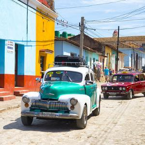 Cuba Fuerte Collection SQ - Taxis in Trinidad by Philippe Hugonnard