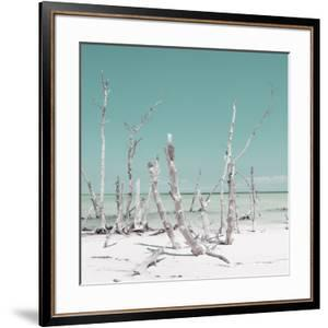 Cuba Fuerte Collection SQ - Wild Ocean - Pastel Turquoise by Philippe Hugonnard