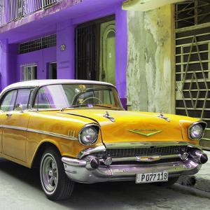 Cuba Fuerte Collection SQ - Yellow Chevrolet Cuban by Philippe Hugonnard