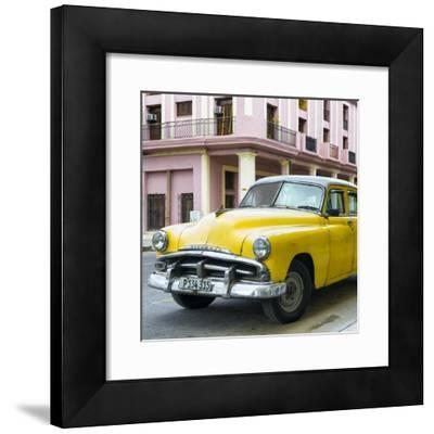 Cuba Fuerte Collection SQ - Yellow Classic Cars