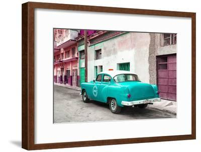 Cuba Fuerte Collection - Turquoise Taxi Pontiac 1953