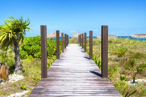 Cuba Fuerte Collection - Wild Beach Jetty by Philippe Hugonnard