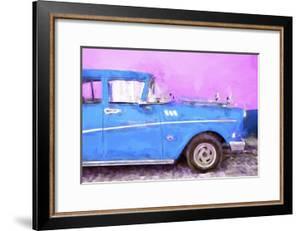 Cuba Painting - Blue Sensation by Philippe Hugonnard
