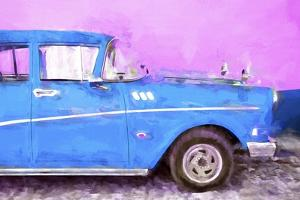 Cuba Painting - Blue Sensation by Philippe Hugonnard
