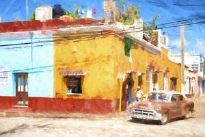 Cuba Painting - Destination Pleasure by Philippe Hugonnard