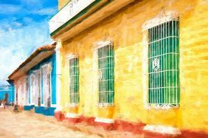 Cuba Painting - Urban Colors by Philippe Hugonnard