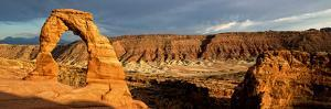 Delicate Arch - Panoramic Landscape - Arches National Park - Utah - United States by Philippe Hugonnard