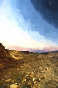 Desert Sunset by Philippe Hugonnard