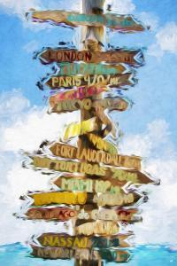 Destinations - In the Style of Oil Painting by Philippe Hugonnard