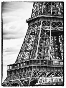 Detail of Eiffel Tower - Paris - France by Philippe Hugonnard