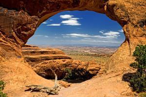 Devils Garden - Landscape - Arches National Park - Utah - United States by Philippe Hugonnard