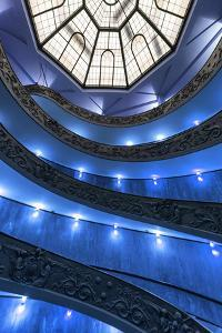 Dolce Vita Rome Collection - Blue Vatican Staircase by Philippe Hugonnard