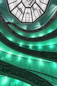 Dolce Vita Rome Collection - Green Vatican Staircase by Philippe Hugonnard