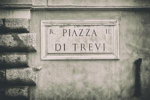 Dolce Vita Rome Collection - Piazza di Trevi II by Philippe Hugonnard