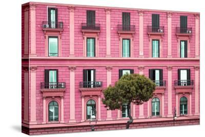 Dolce Vita Rome Collection - Pink Building Facade by Philippe Hugonnard