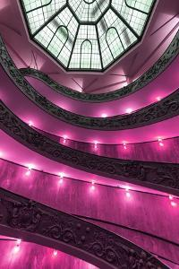 Dolce Vita Rome Collection - Pink Vatican Staircase by Philippe Hugonnard