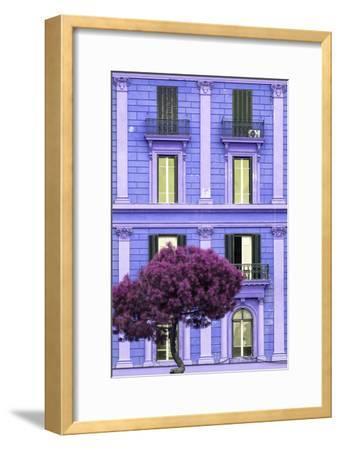 Dolce Vita Rome Collection - Purple Building Facade II
