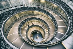 Dolce Vita Rome Collection - Spiral Staircase III by Philippe Hugonnard