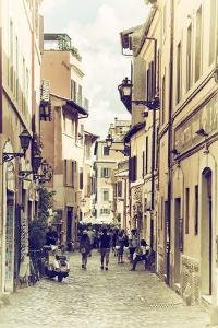 Dolce Vita Rome Collection - Street of Rome II by Philippe Hugonnard