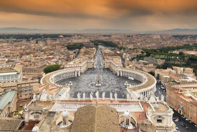 Dolce Vita Rome Collection - The Vatican City at Sunset by Philippe Hugonnard