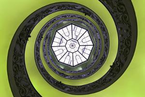 Dolce Vita Rome Collection - The Vatican Spiral Staircase Lime Green by Philippe Hugonnard