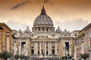 Dolce Vita Rome Collection - Vatican City at Sunset by Philippe Hugonnard