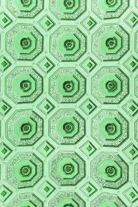 Dolce Vita Rome Collection - Vatican Green Mosaic by Philippe Hugonnard