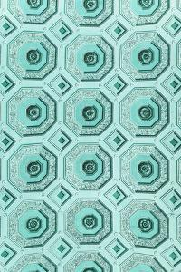 Dolce Vita Rome Collection - Vatican Turquoise Mosaic by Philippe Hugonnard