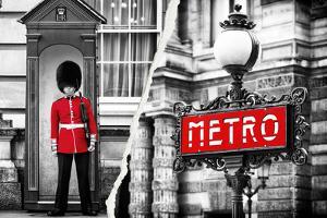 Dual Torn Posters Series - London - Paris by Philippe Hugonnard