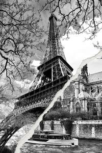 Dual Torn Posters Series - Paris - France by Philippe Hugonnard