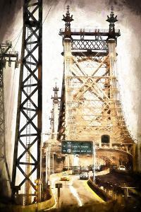 Ed Koch Queensboro Bridge Traffic by Philippe Hugonnard