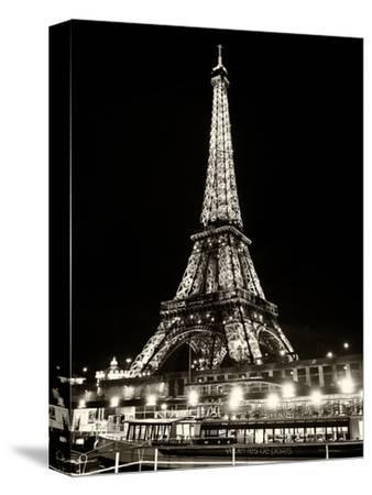 Eiffel Tower - Bateau mouche vedette de Paris - France by Philippe Hugonnard