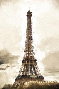 Eiffel Tower in Winter by Philippe Hugonnard