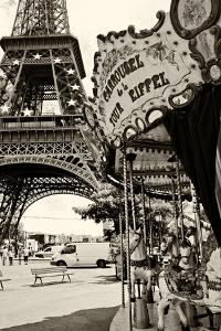 Eiffel Tower - Le Carrousel - Paris - France by Philippe Hugonnard
