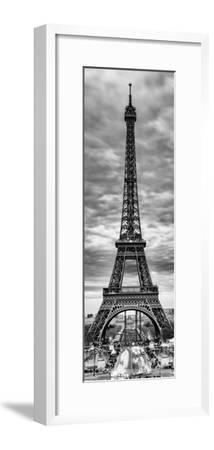 Eiffel Tower, Paris, France - Black and White Photography