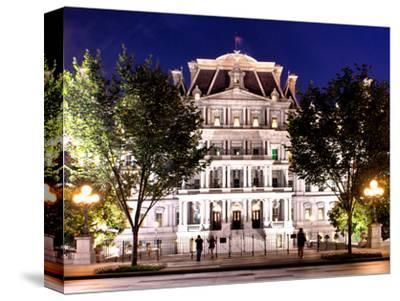 Eisenhower Executive Office Building Entrance (Eeob), West of the White House, Washington D.C, US