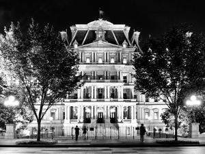 Eisenhower Executive Office Building Entrance (Eeob), West of the White House, Washington D.C by Philippe Hugonnard