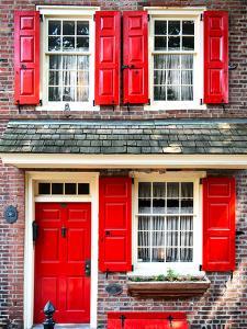 Elfreth Trinity Houses, Elfreth's Alley, Philadelphia, Pennsylvania, United States by Philippe Hugonnard
