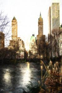 Fall Colors on Central Park II by Philippe Hugonnard