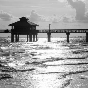 Fishing Pier Fort Myers Beach at Sunset - Florida by Philippe Hugonnard