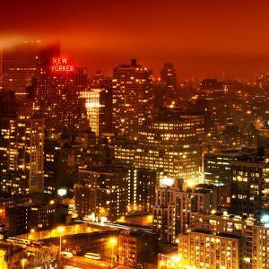 Foggy Night in Manhattan by Philippe Hugonnard