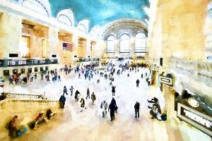 Grand Central NYC by Philippe Hugonnard